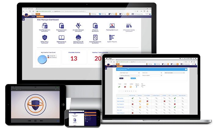 Multi-Platform Health and Safety Software